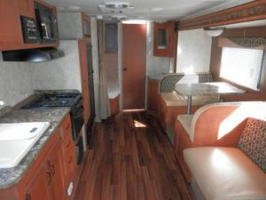 29 Foot RV for rent Conquest with Slide-Out7