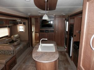34 Foot RV Travel Trailer Conquest Double Slide-Out